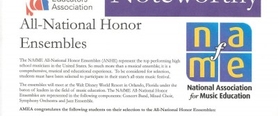 All National Honor Ensembles