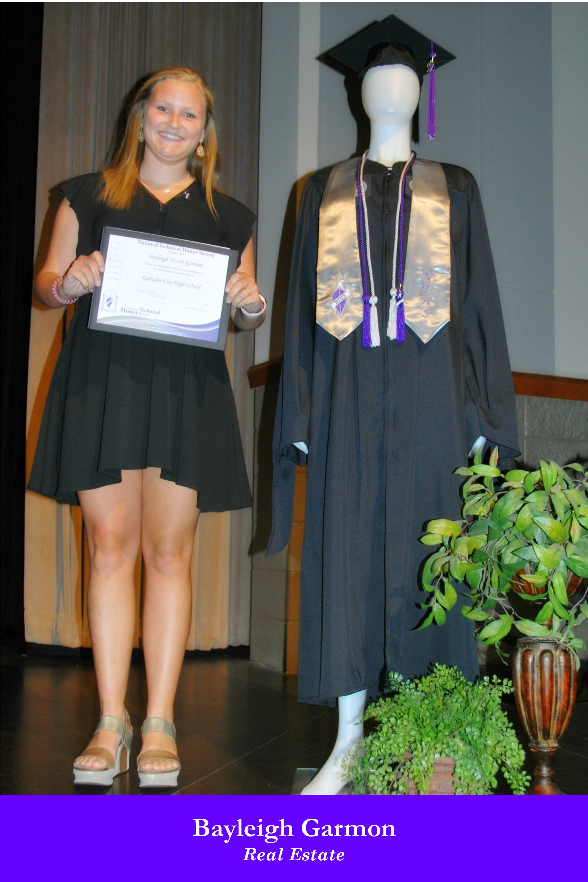 NTHS Induction Bayleigh Garmon
