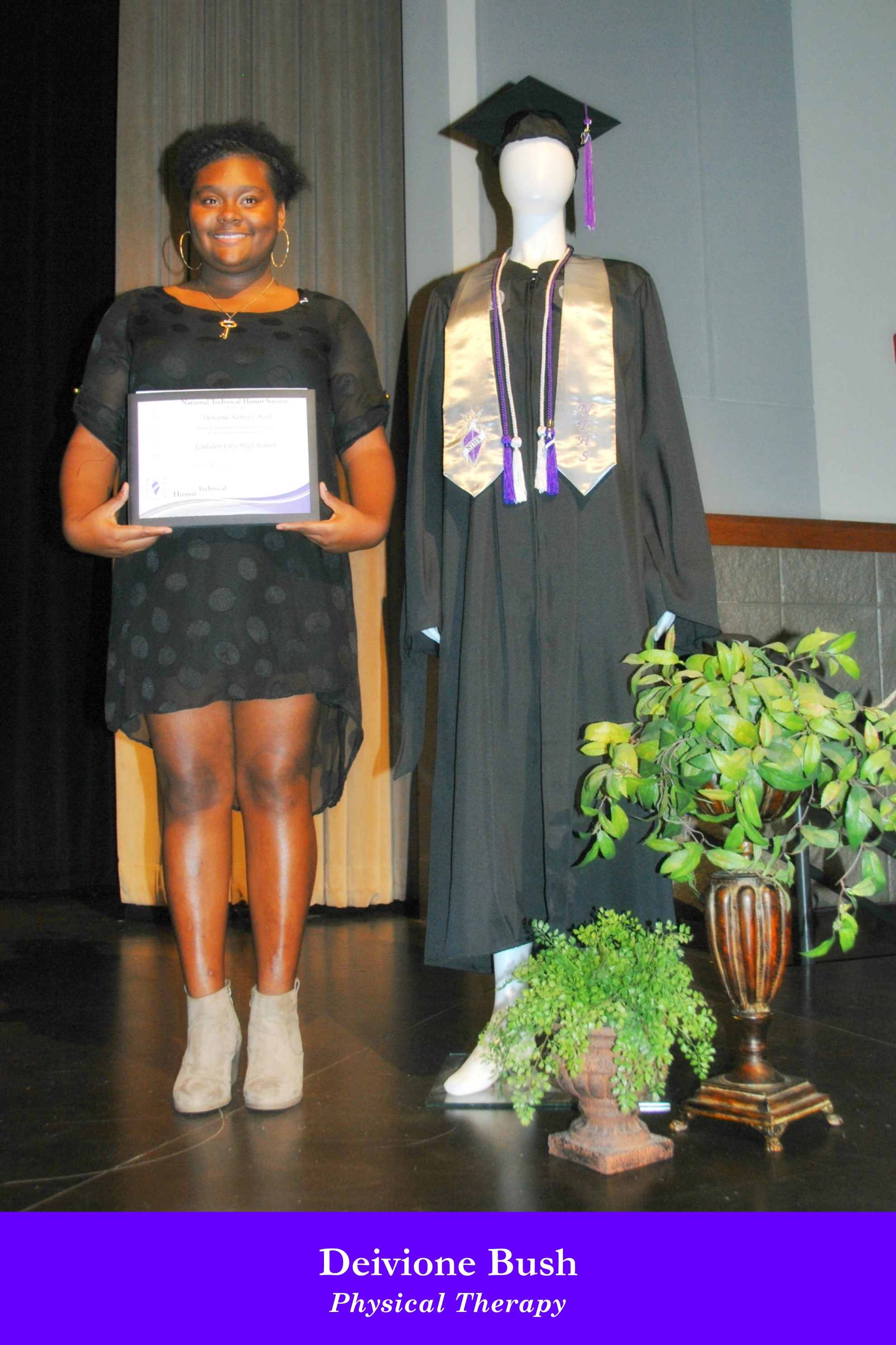 NTHS Induction Deivione Bush