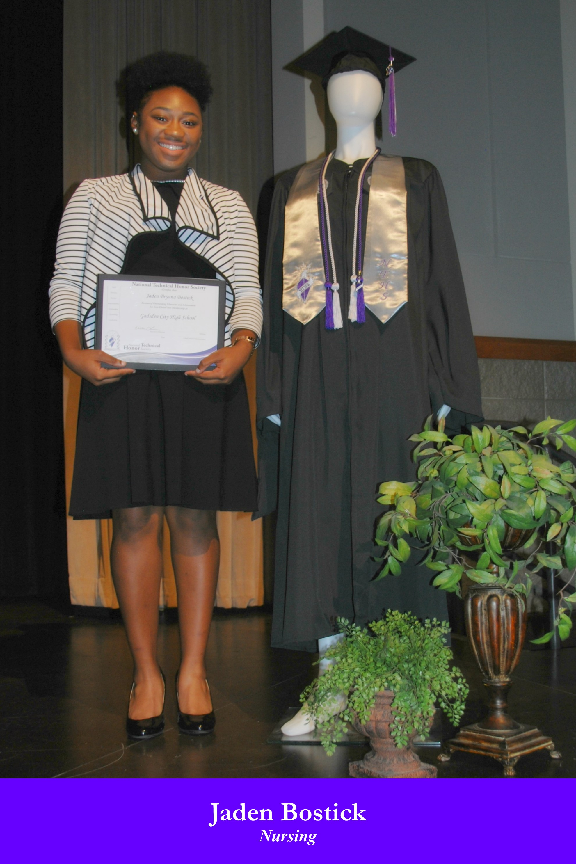 NTHS Induction Jaden Bostick