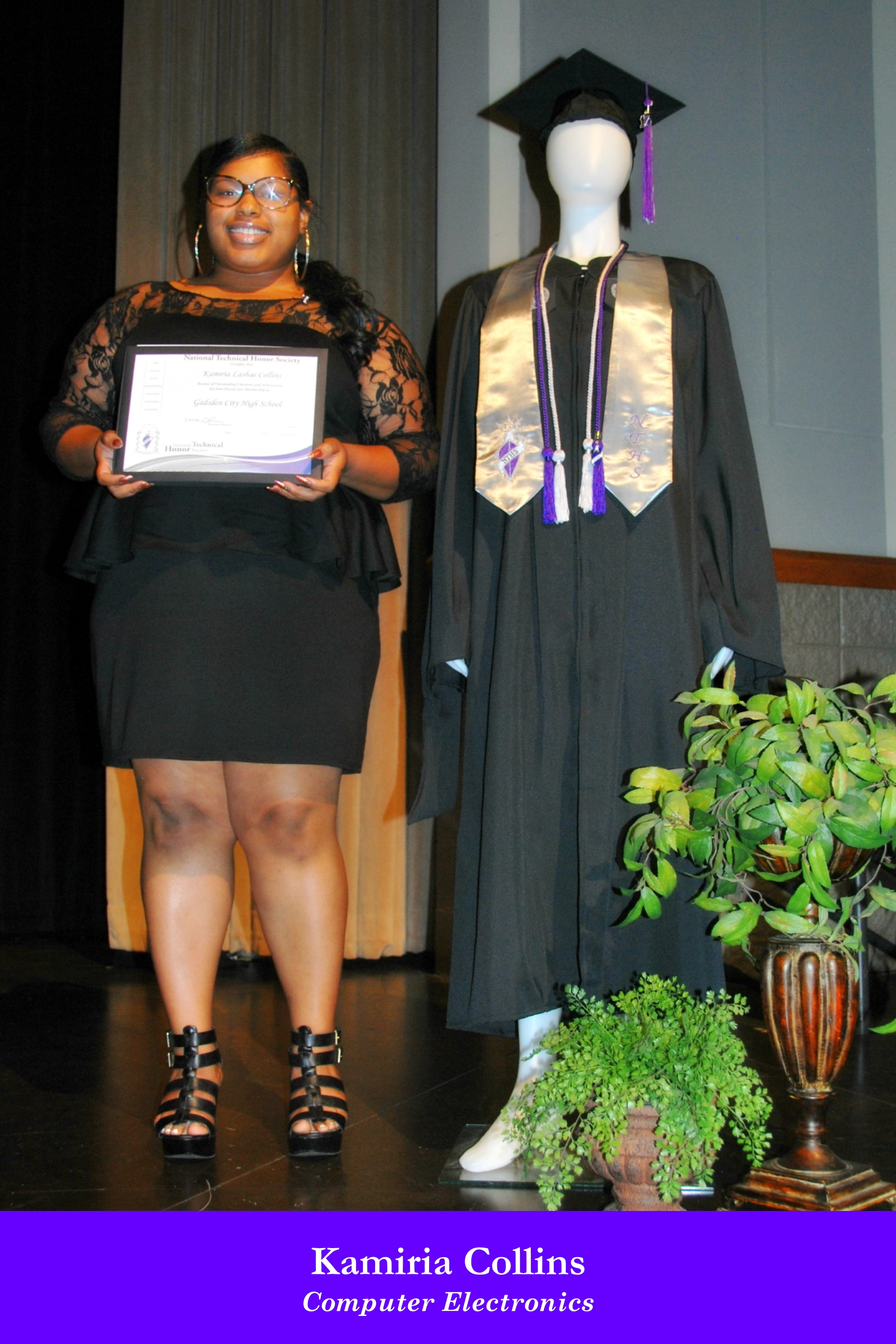 NTHS Induction Kamiria Collins