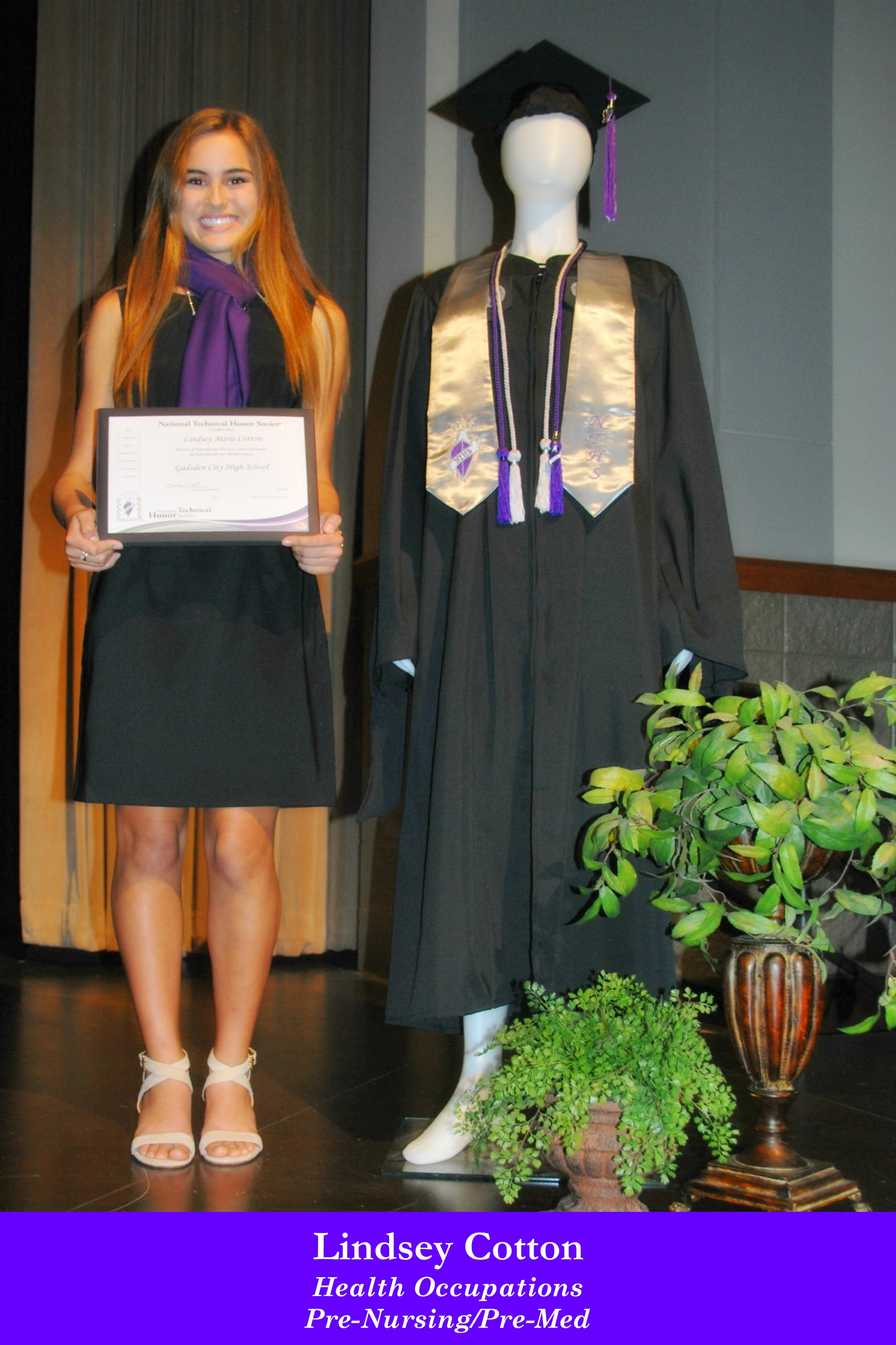 NTHS Induction Lindsey Cotton