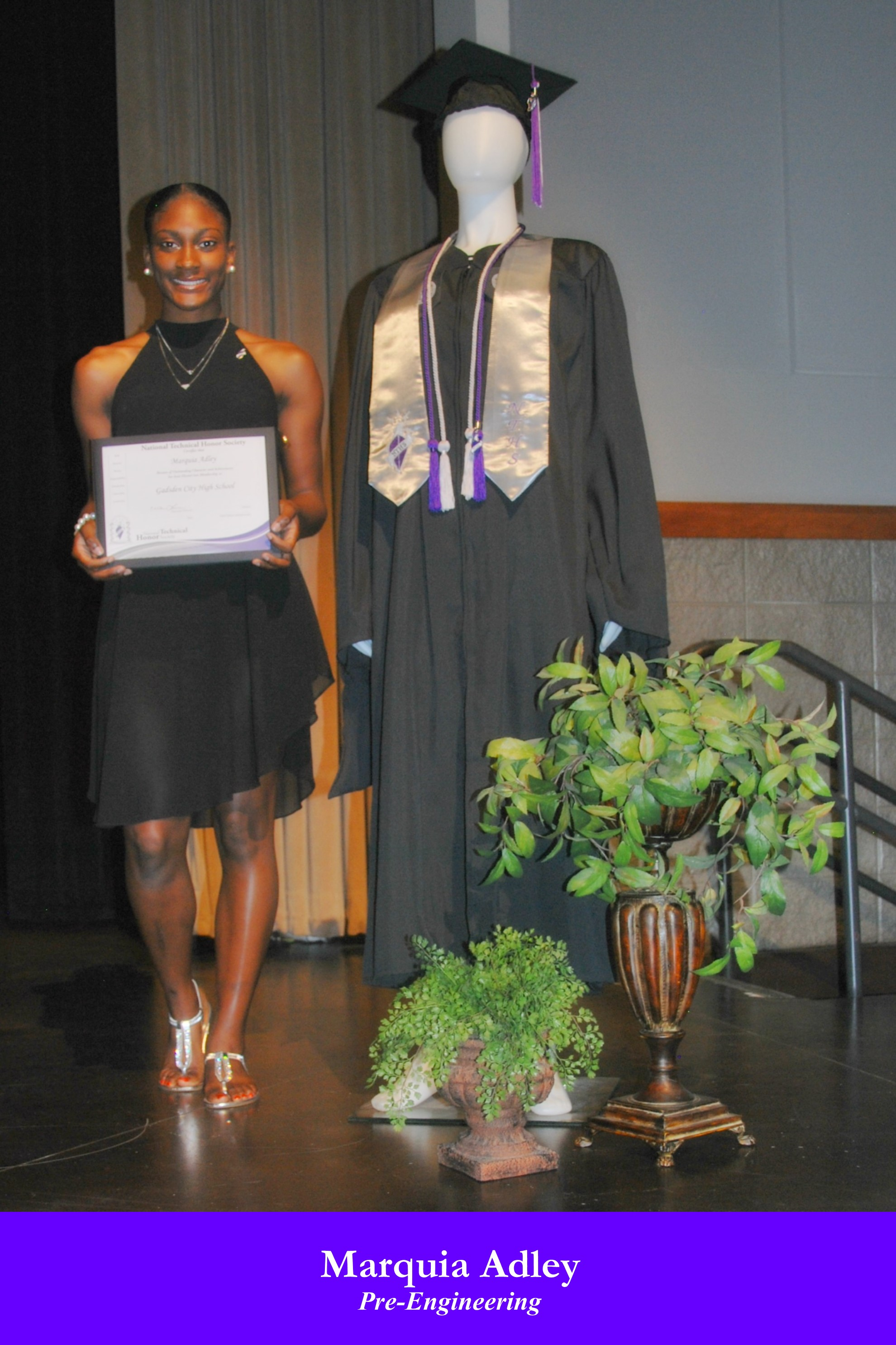 NTHS Induction Marquia Adley