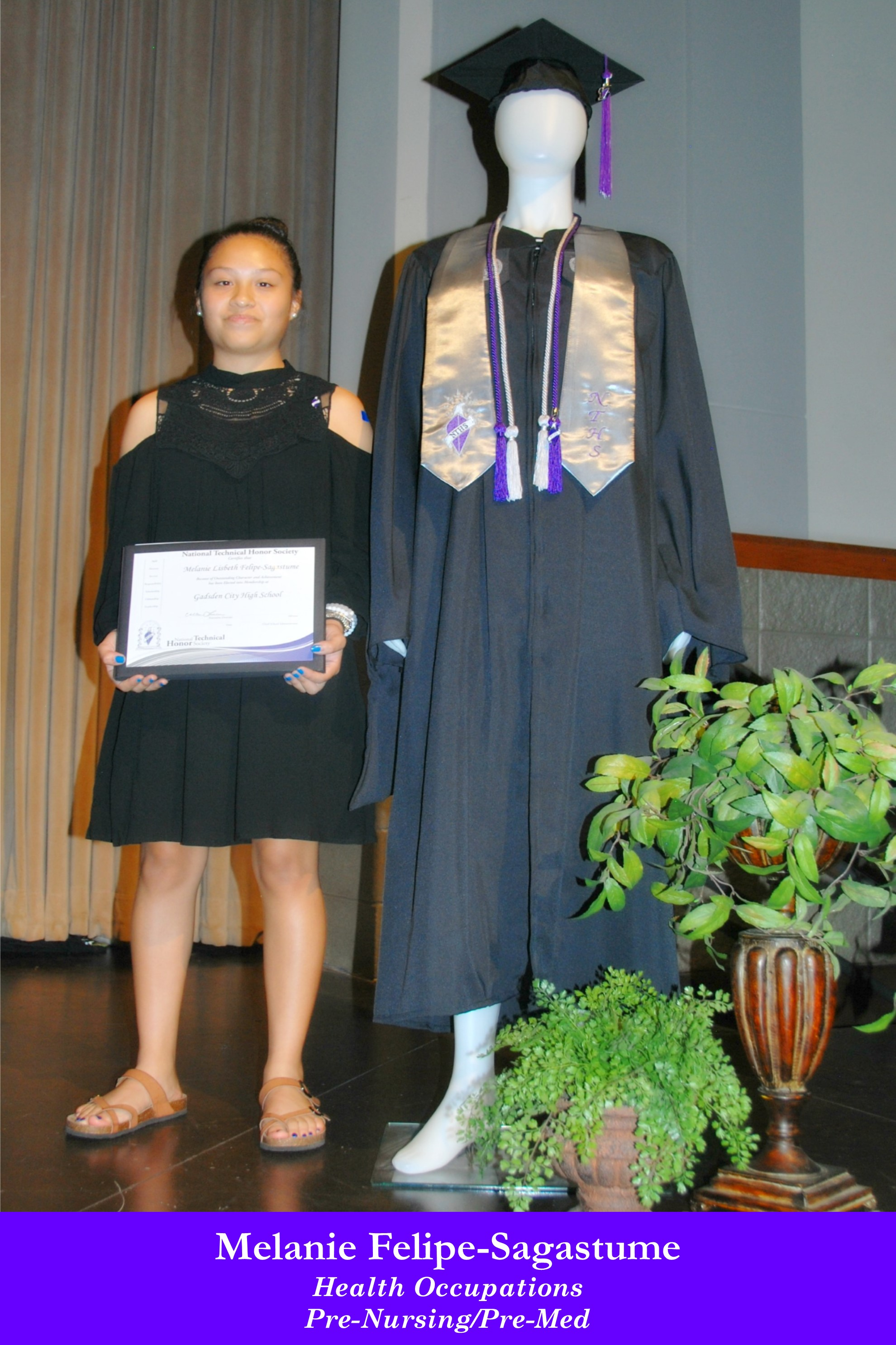 NTHS Induction Melanie Felipe