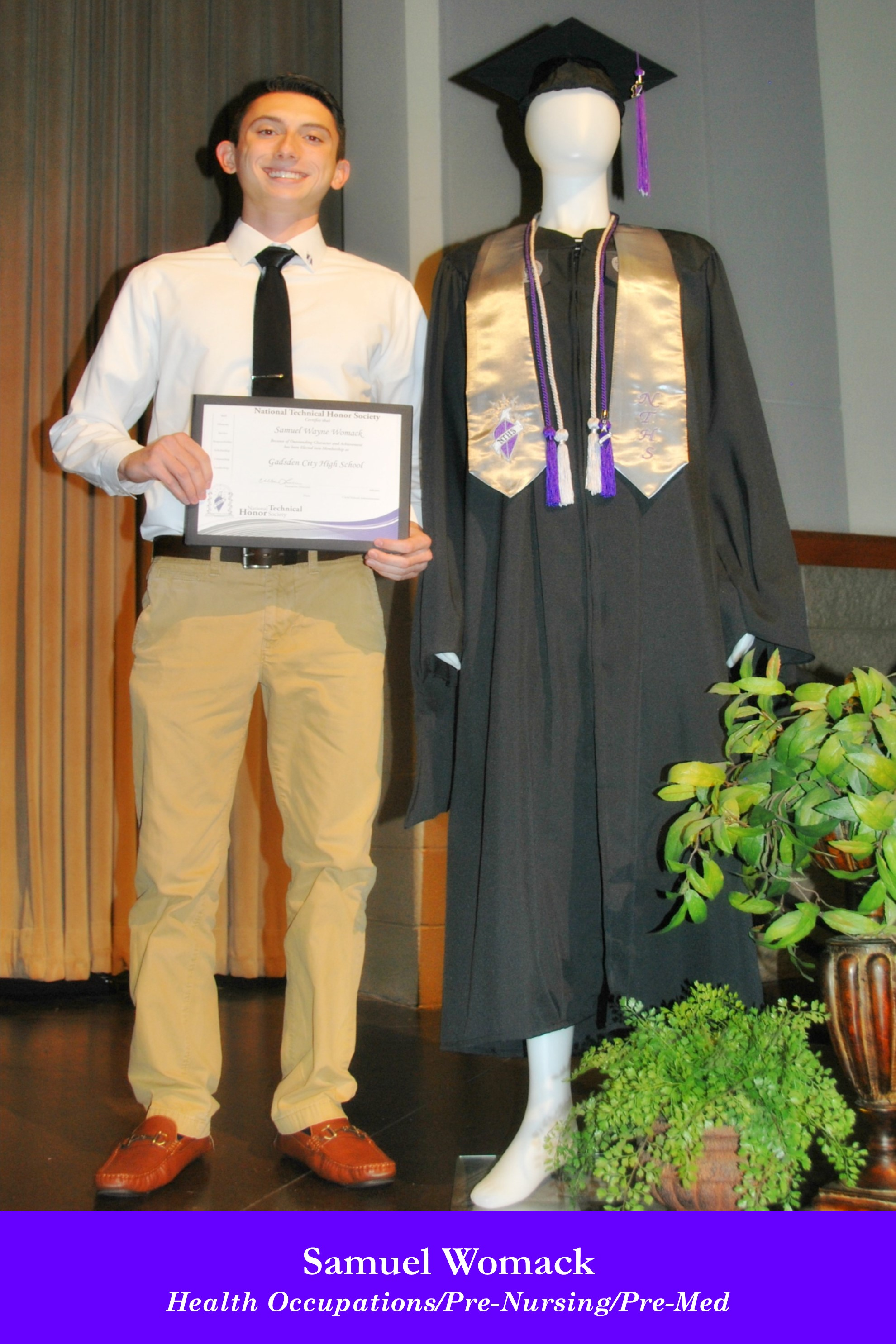 NTHS Induction Samuel Womack