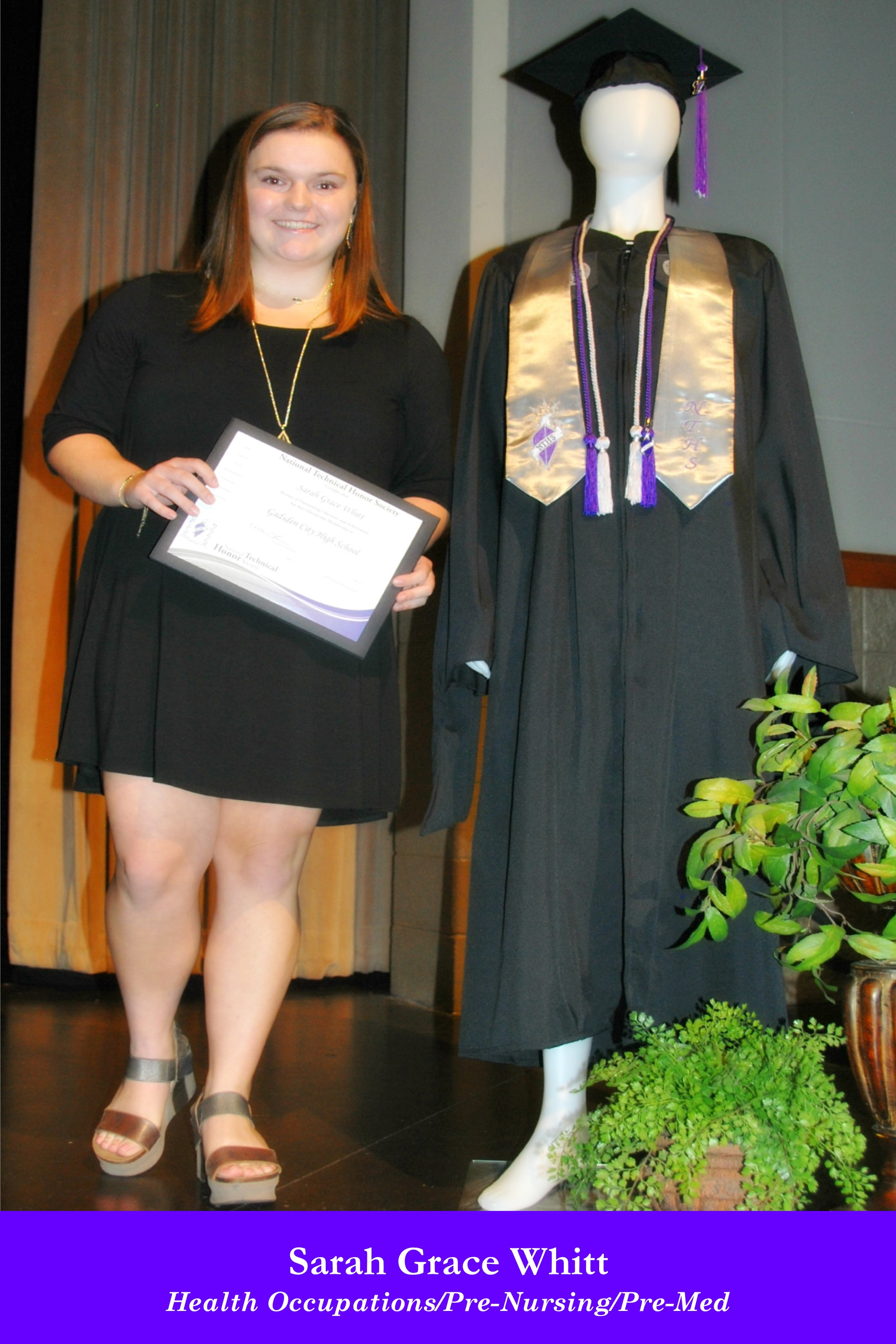 NTHS Induction Sarah Grace Whitt