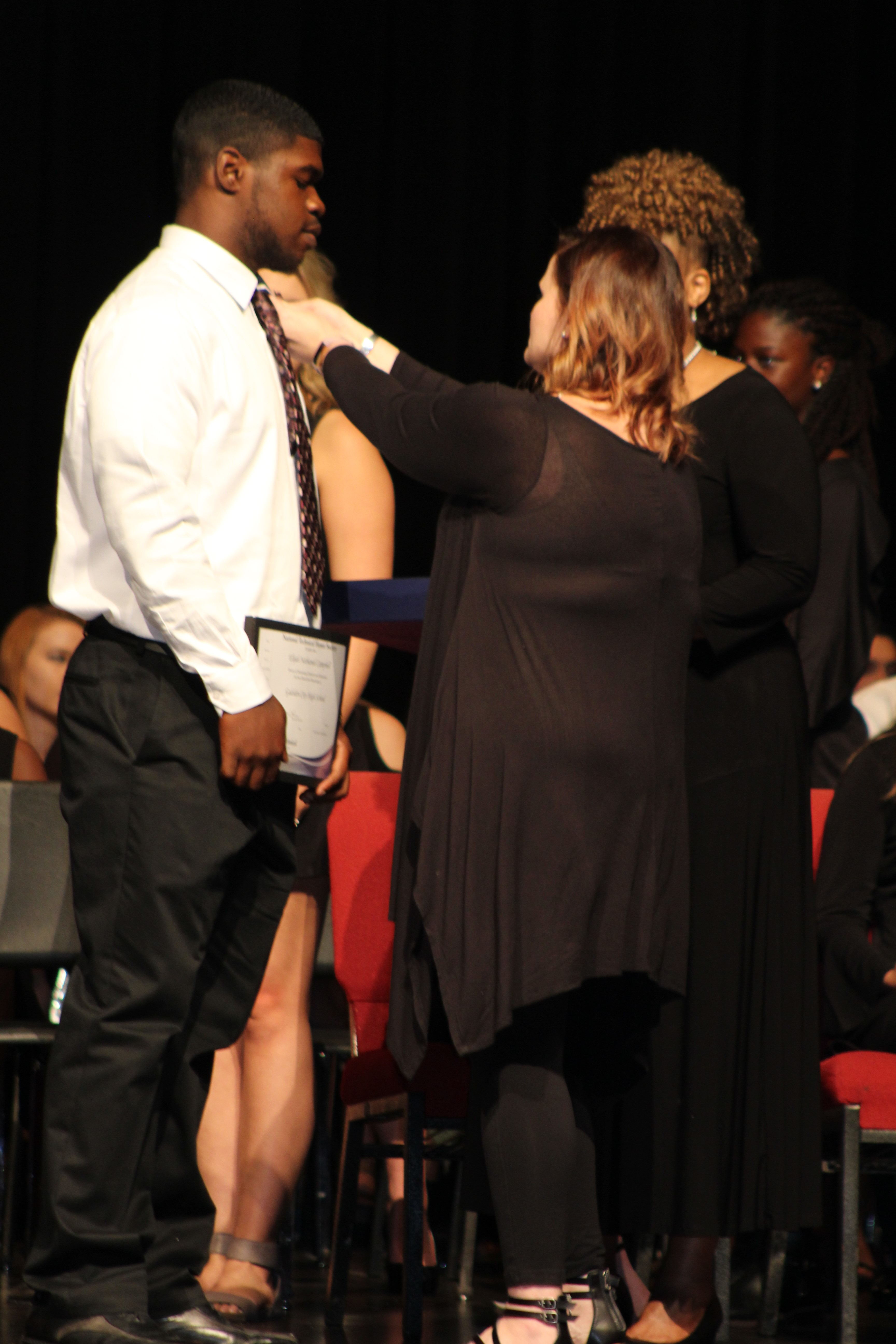 NTHS induction 070