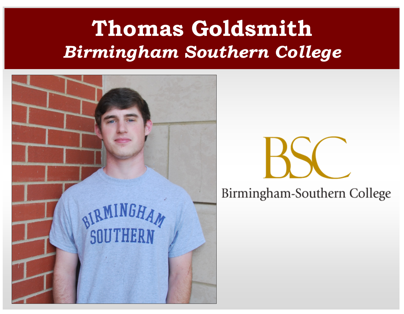 Thomas Goldsmith